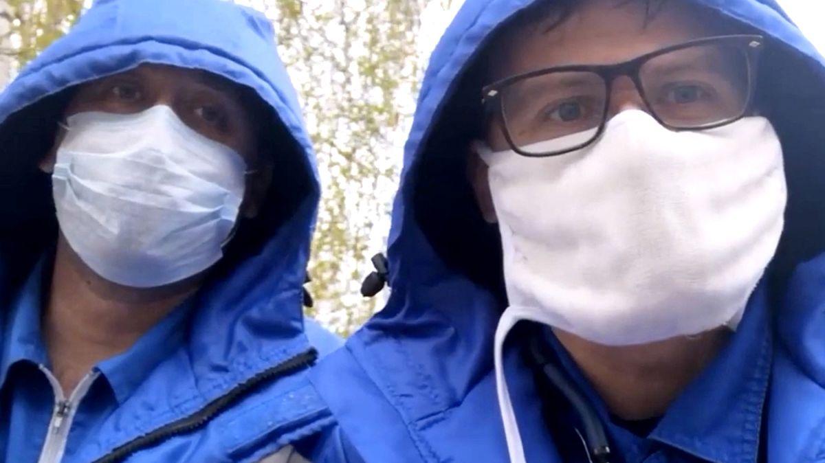 Ruský lékař si stěžoval na podmínky a vypadl zokna. Jako třetí vřadě