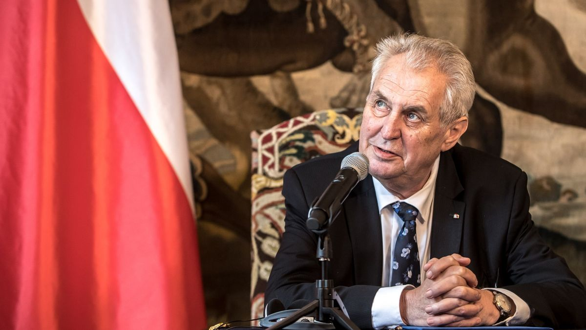 Útok v Sýrii: Byl to kovbojský projekt, kritizuje prezident Zeman