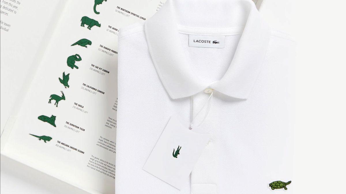 Oděvní firma Lacoste se vzdala ikonického krokodýla. Uvedla limitovanou kolekci triček s ohroženými druhy zvířat