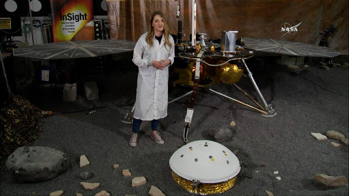 NASA vyšle sondu na Mars, bude mít za úkol dostat se k jádru planety