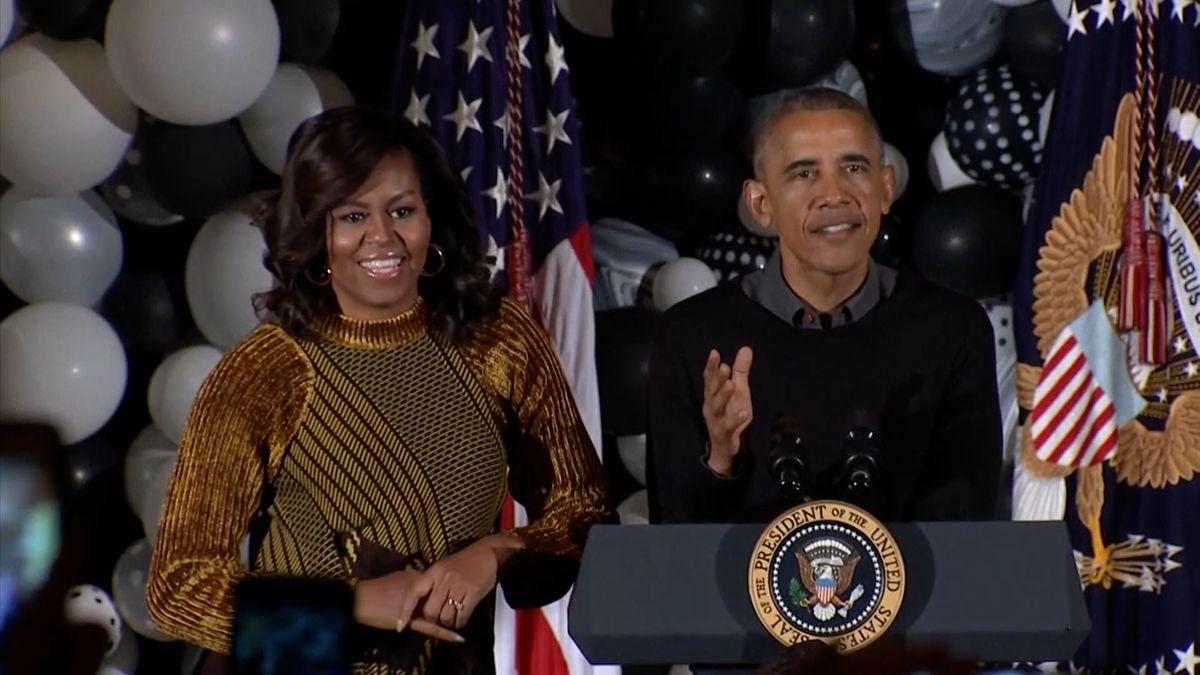 Manželé Obamovi budou mít pořady na Netflixu