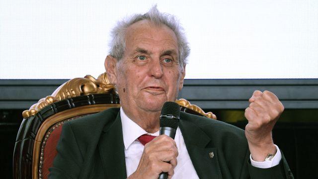 Stateční z Rudého náměstí se odmítli sejít s prezidentem Zemanem