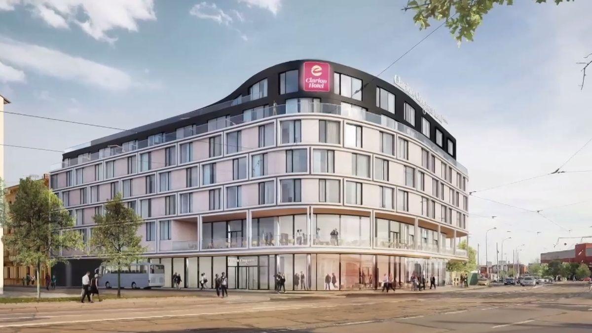 Čtvrtý nejbohatší Čech postaví největší hotel v Brně. U nádraží, které se má přesouvat
