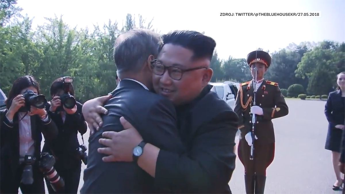 Jako zvelkofilmu. Korea se chlubí dramatickým videem ze setkání vůdců