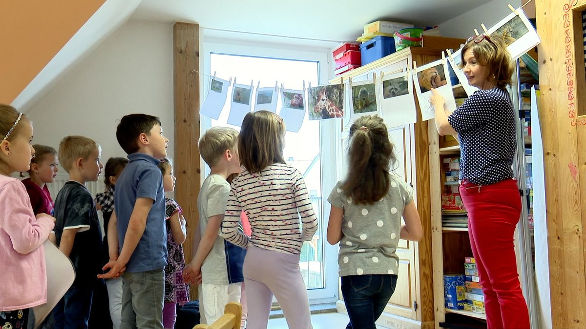 """""""Ahoj, jak se máš?"""" Děti v německém Speinshartu se učí česky už od mateřské školy"""