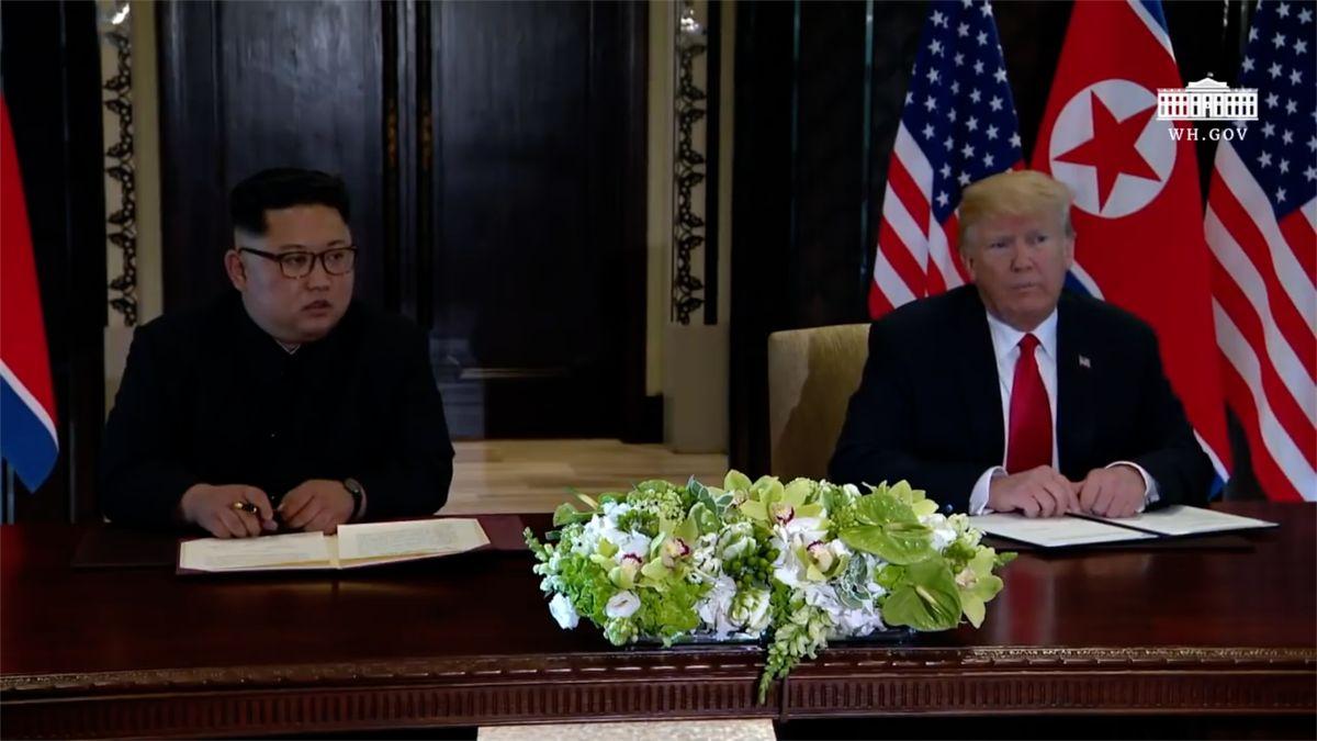 Kim Čong-un požádal o další schůzku s Donaldem Trumpem