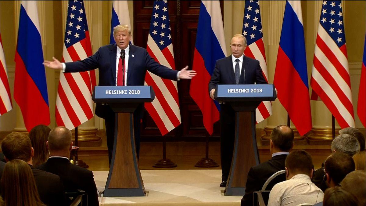 Nejnovější Trumpovo prohlášení: Rusko se vměšovalo do amerických voleb, odpovědný je Putin