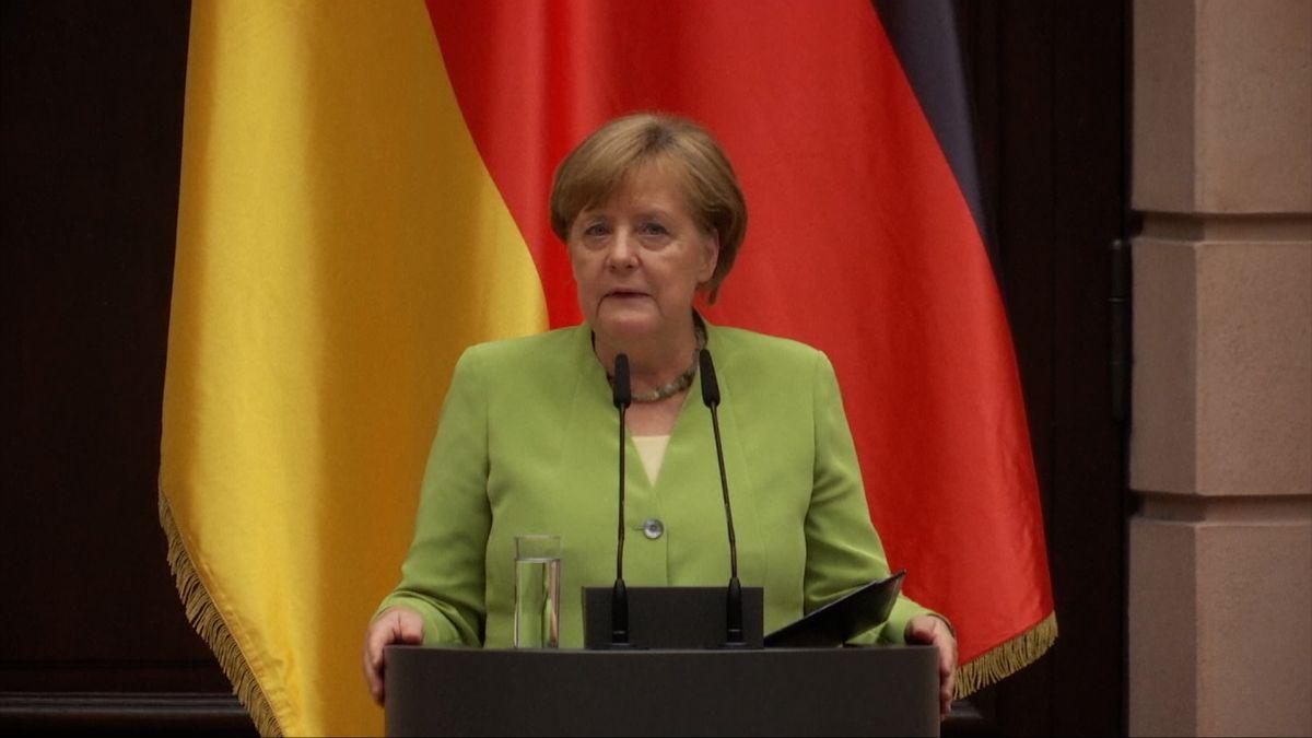 Merkelová: Pro vyhnání Němců po válce neexistovalo morální ospravedlnění
