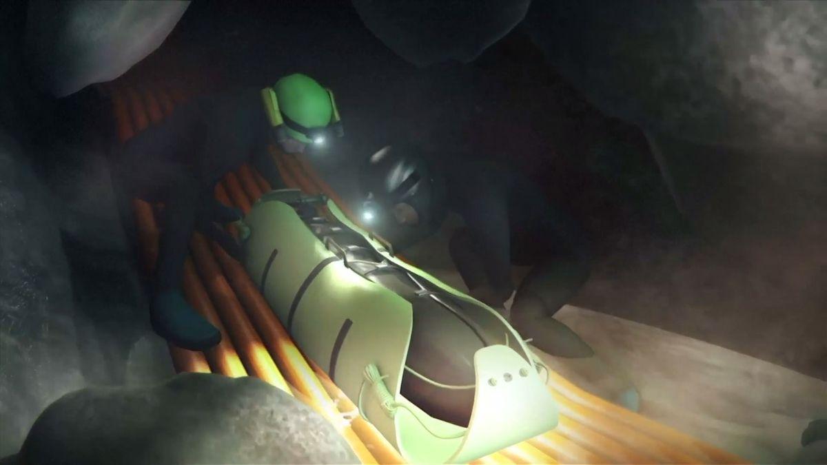 Nová animace ukazuje, jak přesně proběhla záchrana chlapců z jeskyně