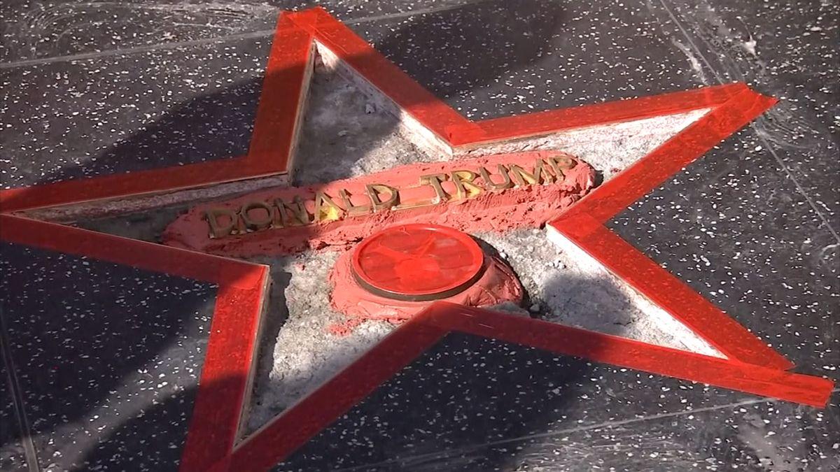 West Hollywood chce odstranit Trumpovu hvězdu z chodníku slávy. Nezaslouží si ji, tvrdí starosta města