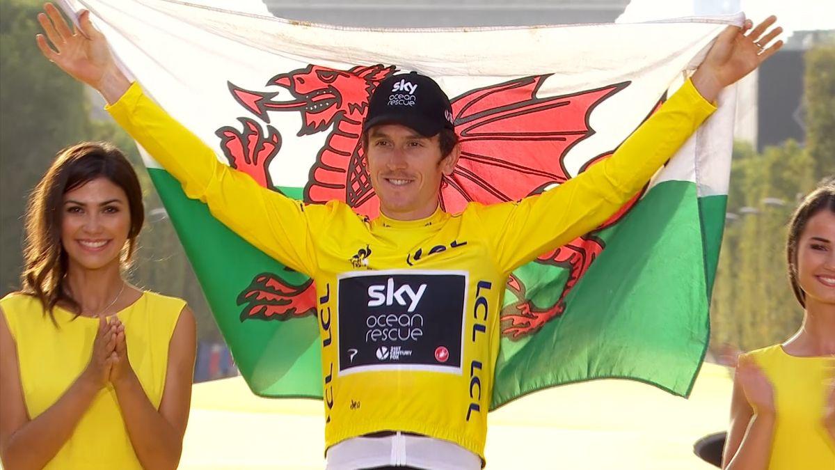Z nosiče vody vítězem Tour de France. Thomas se do cyklistiky zamiloval, když nahlížel přes plot