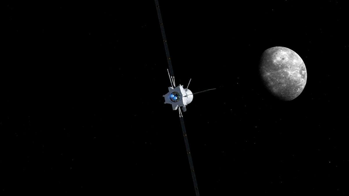 Evropská kosmická agentura se chystá kMerkuru, sondy tam poletí sedm let