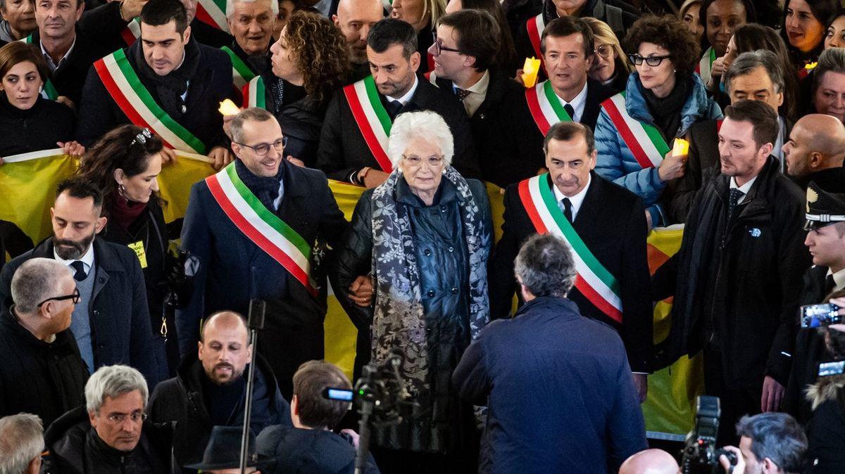 Přežila holokaust a dnes jí nadávají. VItálii bují nenávist kžidům