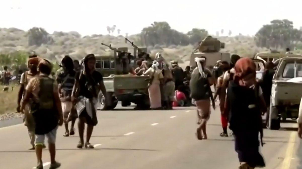 V klíčovém jemenském přístavu Hudajdá vládne příměří