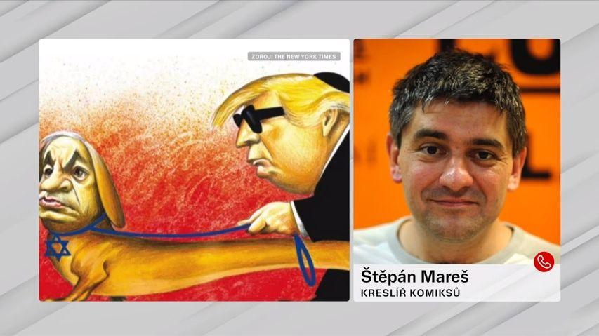 The New York Times končí spolitickými karikaturami. Může za to antisemitský vtip?