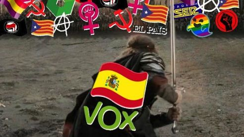 Ultrapravicová španělská strana použila Aragorna vkampani. Absurdní, reaguje herec Mortensen