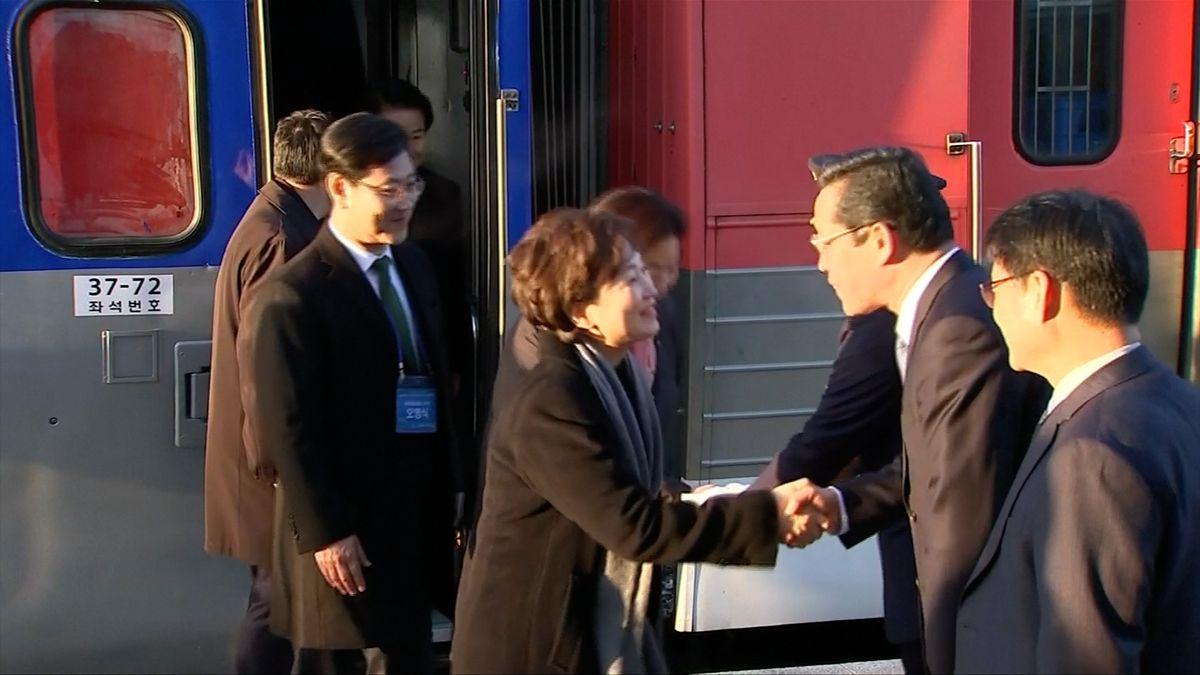Severní a Jižní Korea chtějí obnovit společnou železniční síť