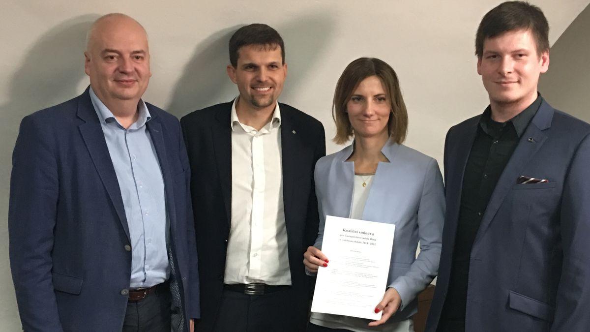 """Brněnští Piráti """"grilují"""" navrženou primátorku za ODS. Zajímá je její role vkauze vymáhání pohledávek"""