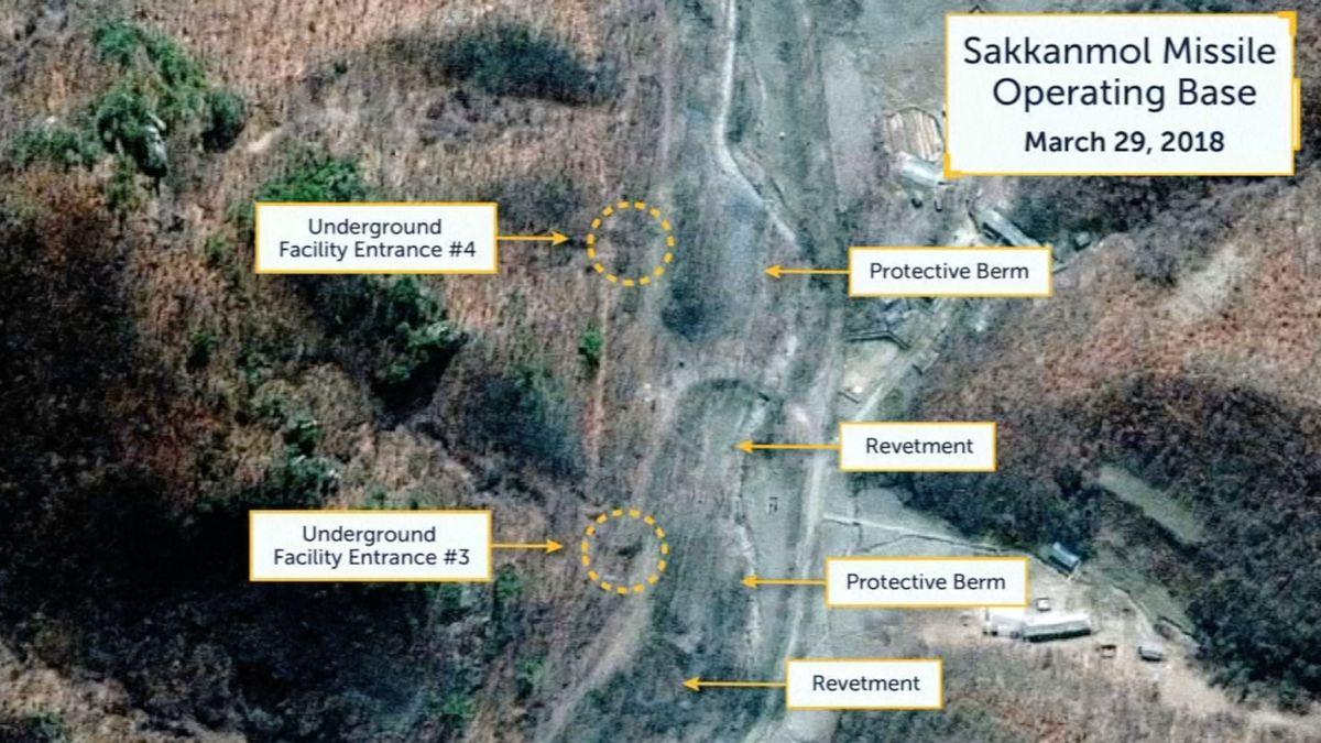 Nové satelitní snímky ukazují, že Severní Korea staví další raketové základny