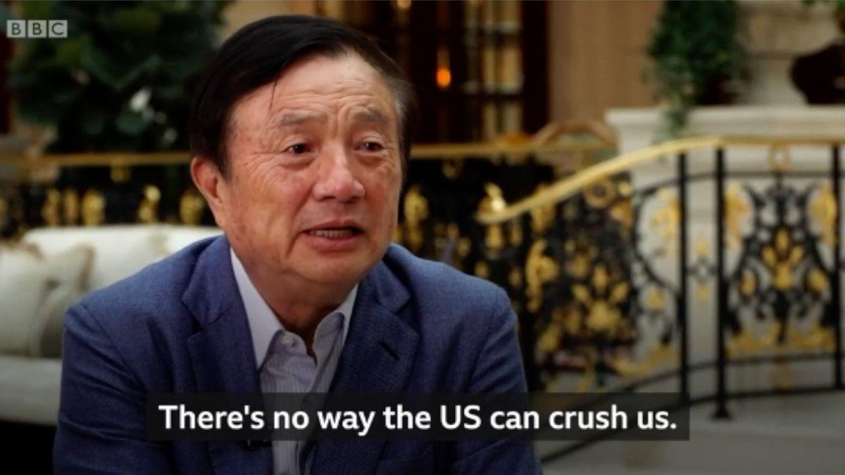 Zakladatel čínské Huawei: USA nás nedokážou rozdrtit, politicky motivované akce jsou nepřijatelné