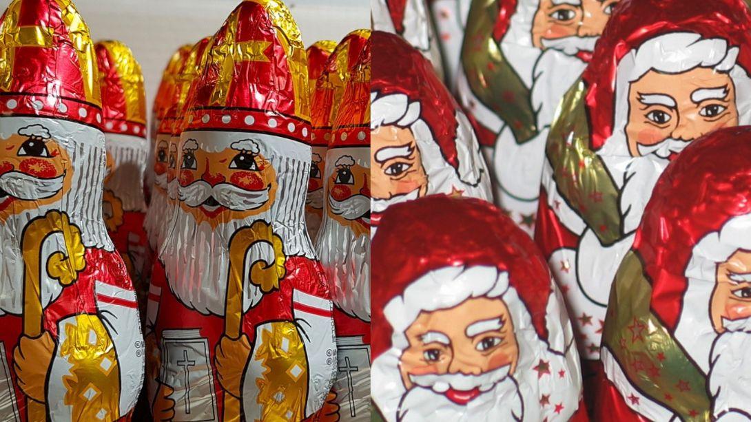 Santa Claus poráží Mikuláše 2:1. Vpředvánočních letácích českých obchodů