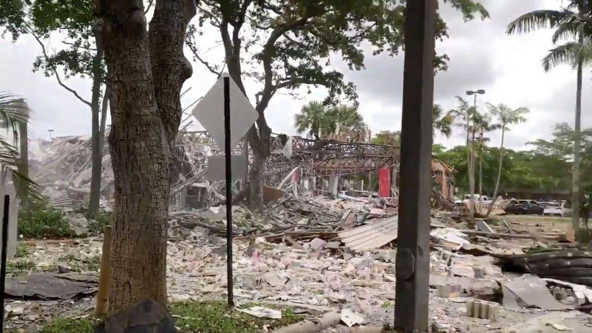 Vobchodním domě na Floridě vybouchl plyn