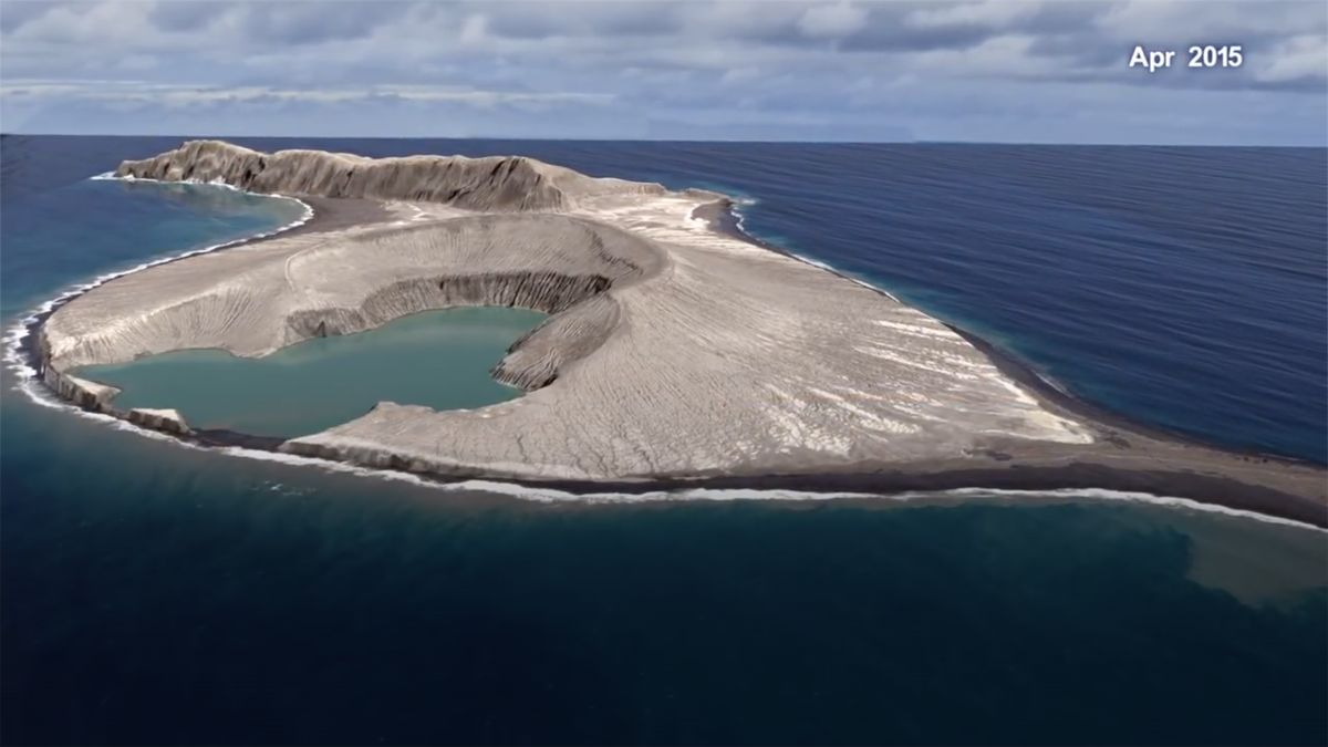 Vědci zNASA navštívili nejmladší ostrov. Našli záhadné bahno