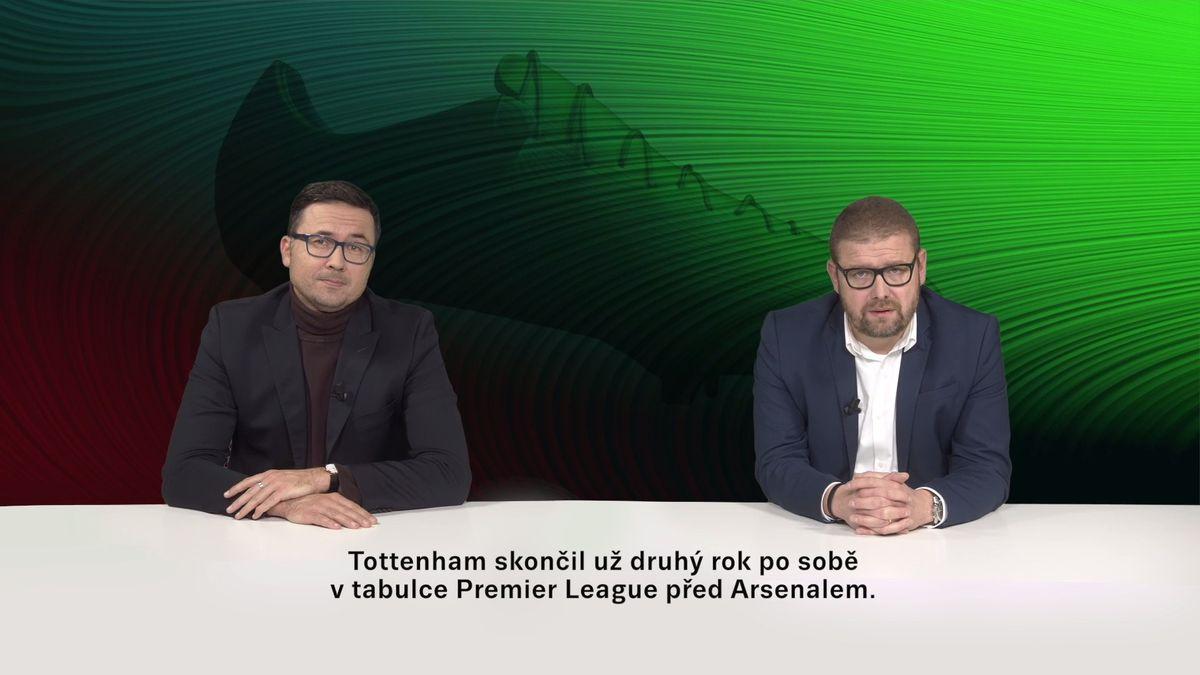 Šťastné pondělí: Šídlo sHoškem učí angličtinu před nedělním zápasem Arsenal-Tottenham na TV Seznam