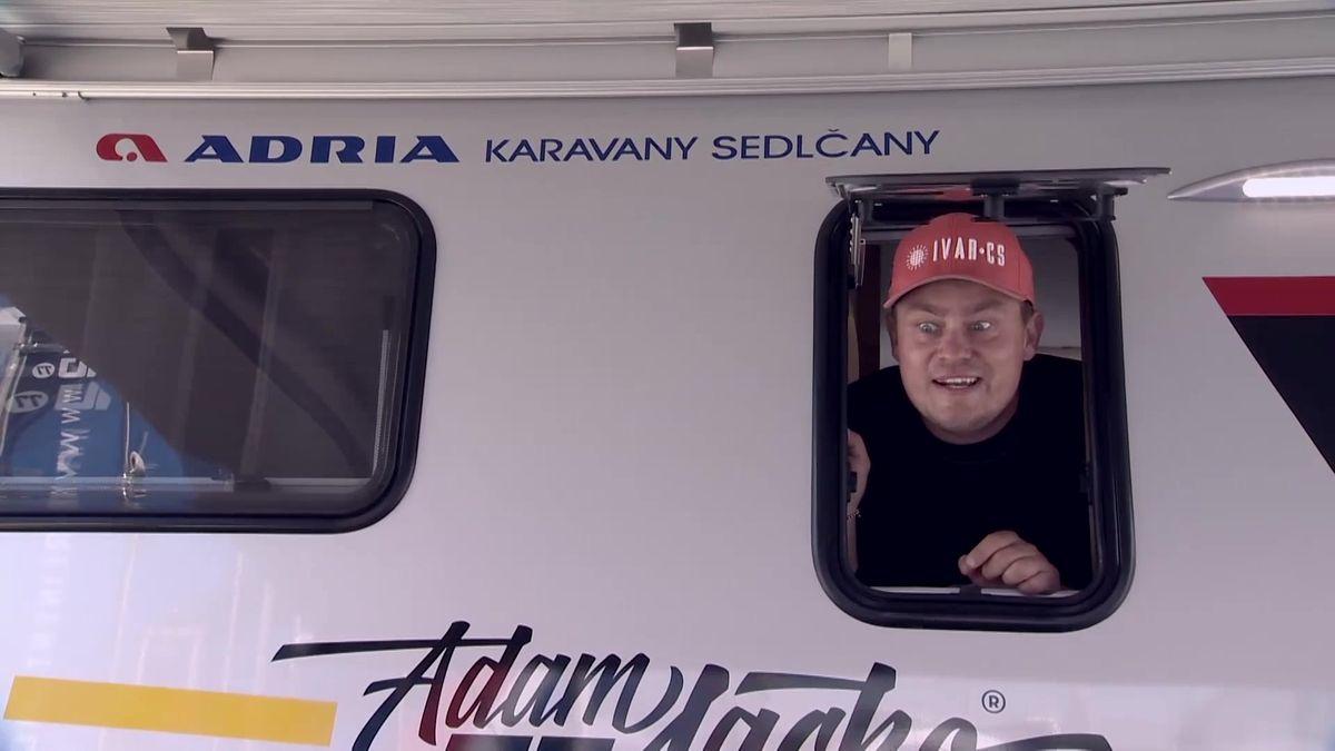 """Záhady: """"Selfie day"""" pilota kamionu Adama Lacka"""