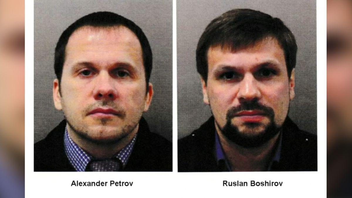 Podezřelý v kauze Skripal má podle britských novinářů ve složce číslo na ruské ministerstvo obrany