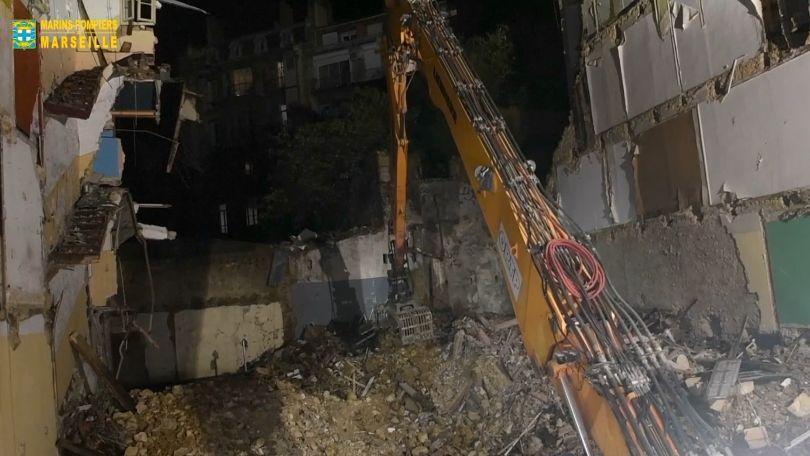 V Marseille našli vtroskách zřícených domů už sedm mrtvých