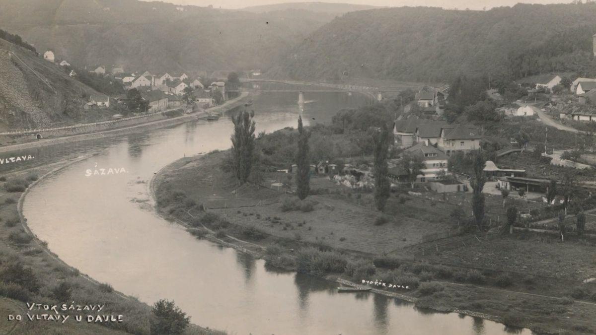 Pátrání po vesnicích na dně vltavských přehrad. Spatřit se dá ikostel