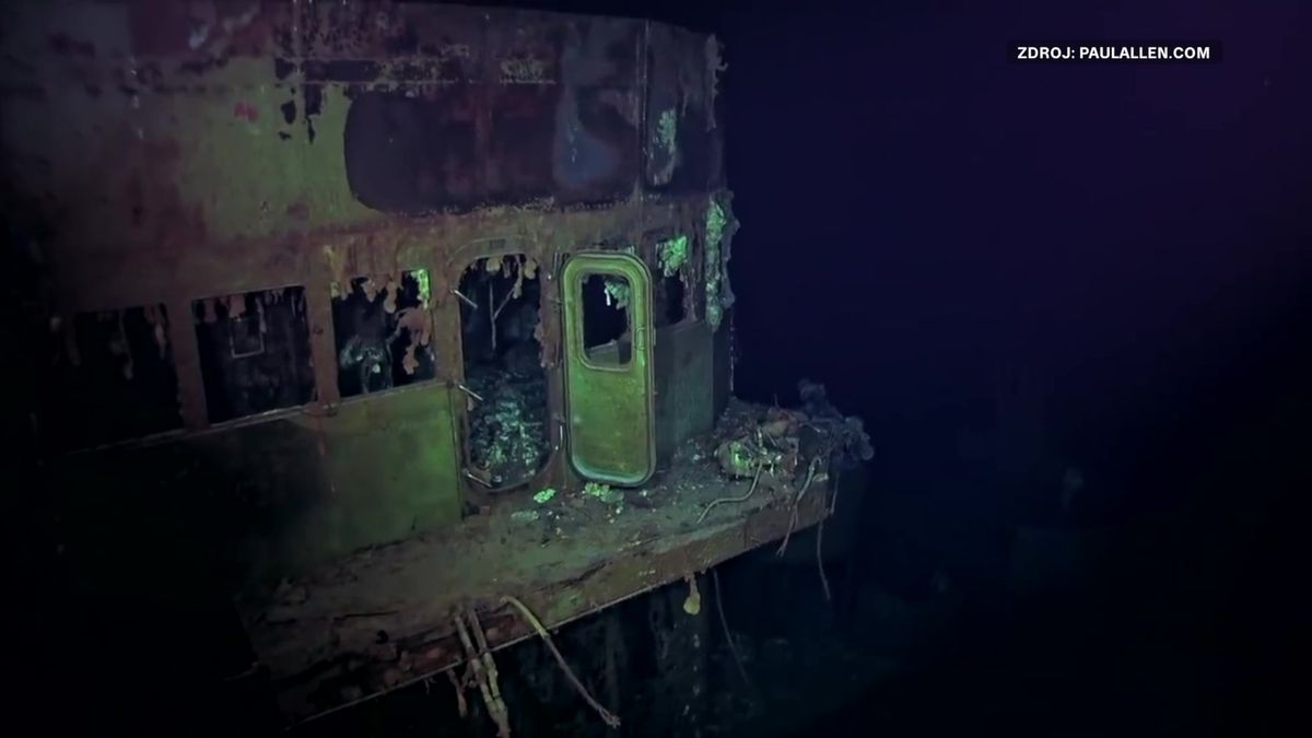 Vjižním Pacifiku objevili letadlovou loď potopenou vroce 1942