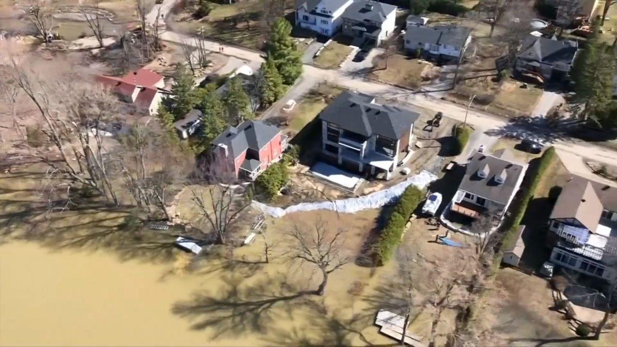 Povodně vQuebecu vyplavily 4000budov. Úřady hlásí jednu oběť