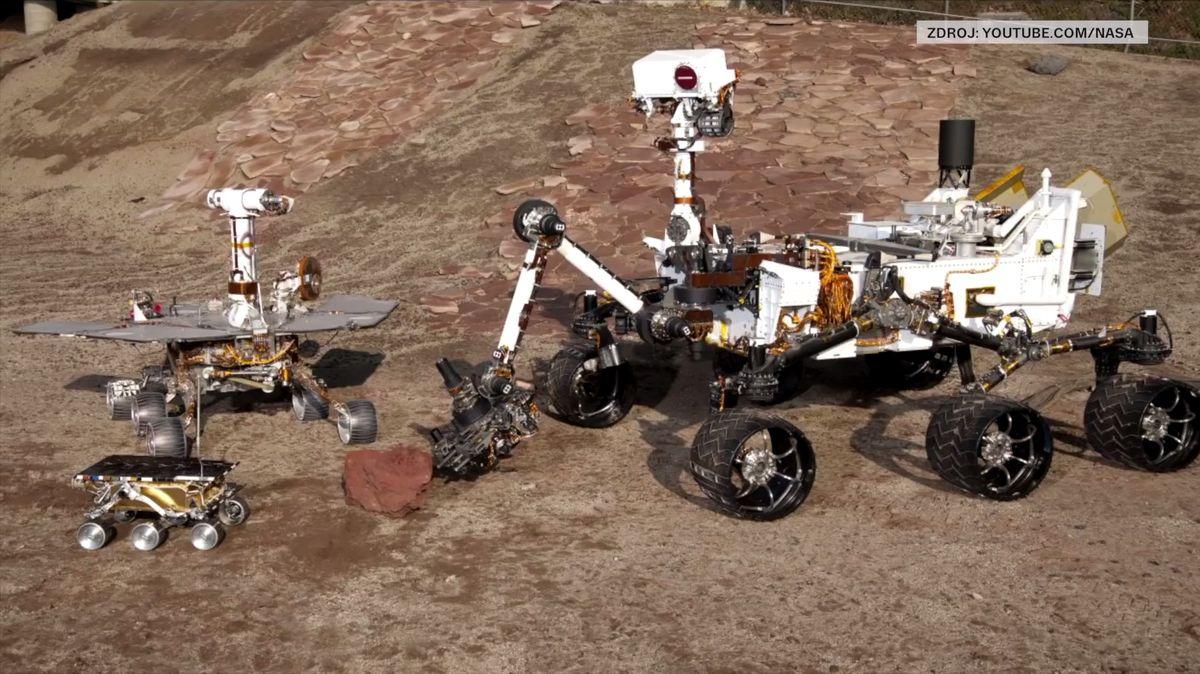 NASA se chystá vroce 2020vyslat další rover na Mars