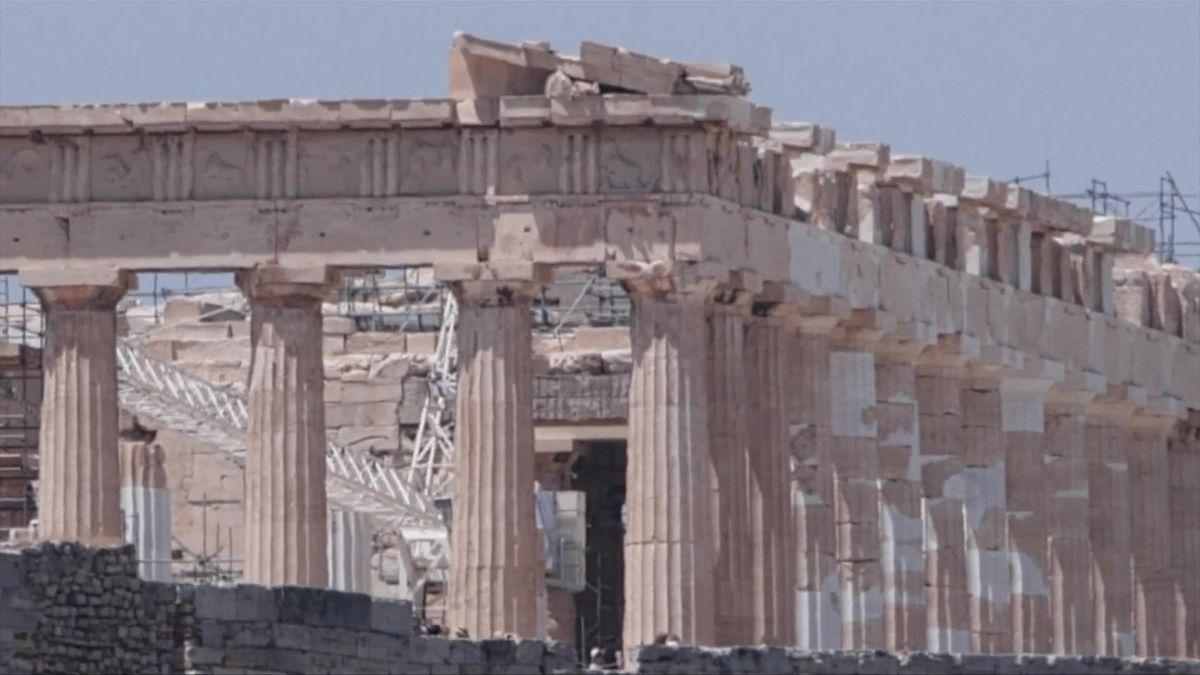 Antické památky vŘecku ničí klimatická změna, říkají vědci