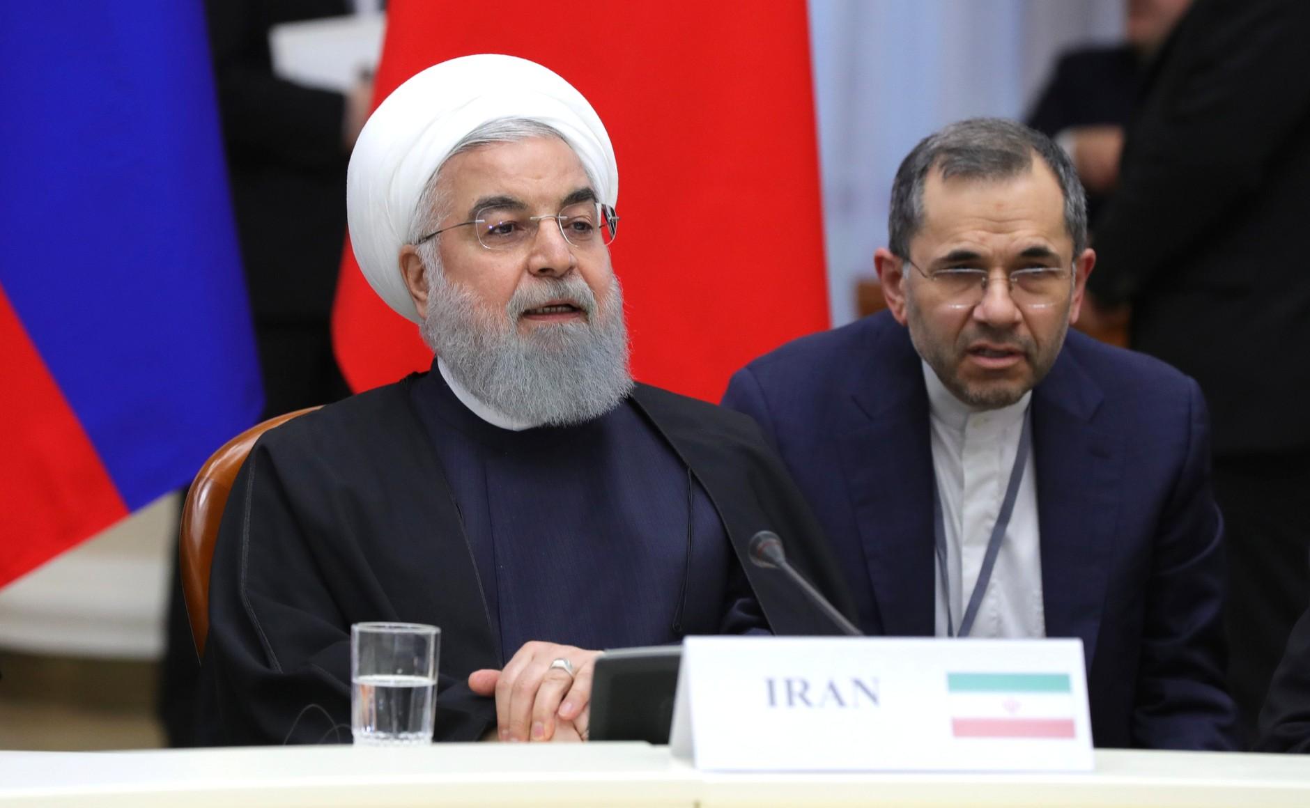 setkat se s Iránem v Teheránu