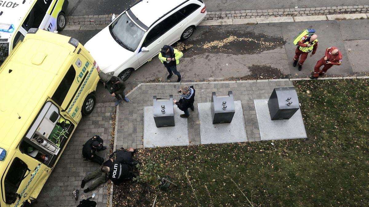 Muž vOslu ukradl sanitku a najížděl do chodců. Než ho zatkla policie, zranil několik lidí