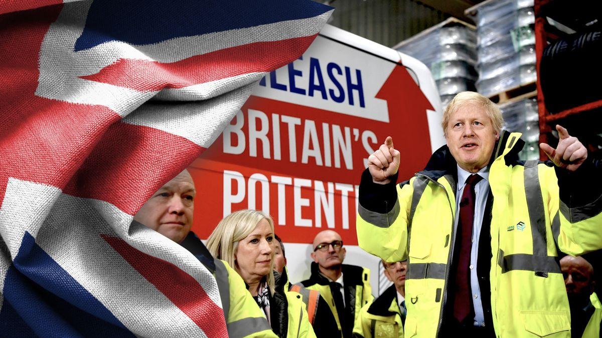 Co může mít vliv na volby vBritánii? Sníh, Vánoce imladí voliči