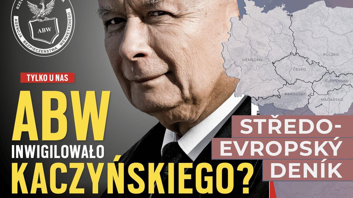 Kaczyńského nelegálně sledovala tajná služba, píše polský týdeník