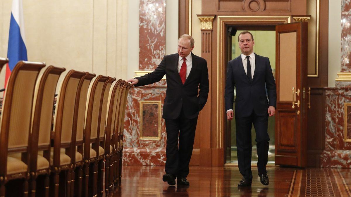 Putin zaskočil svět ivlastní ministry. Chce překopat systém