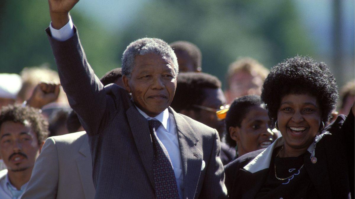 Obrazem: 30let od propuštění Nelsona Mandely zvězení
