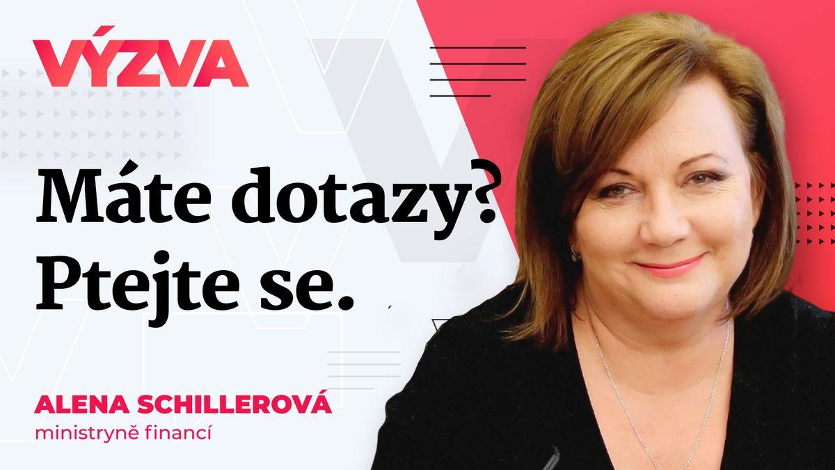 Restart ekonomiky: Kolik za něj Česko zaplatí? Odpoví Alena Schillerová