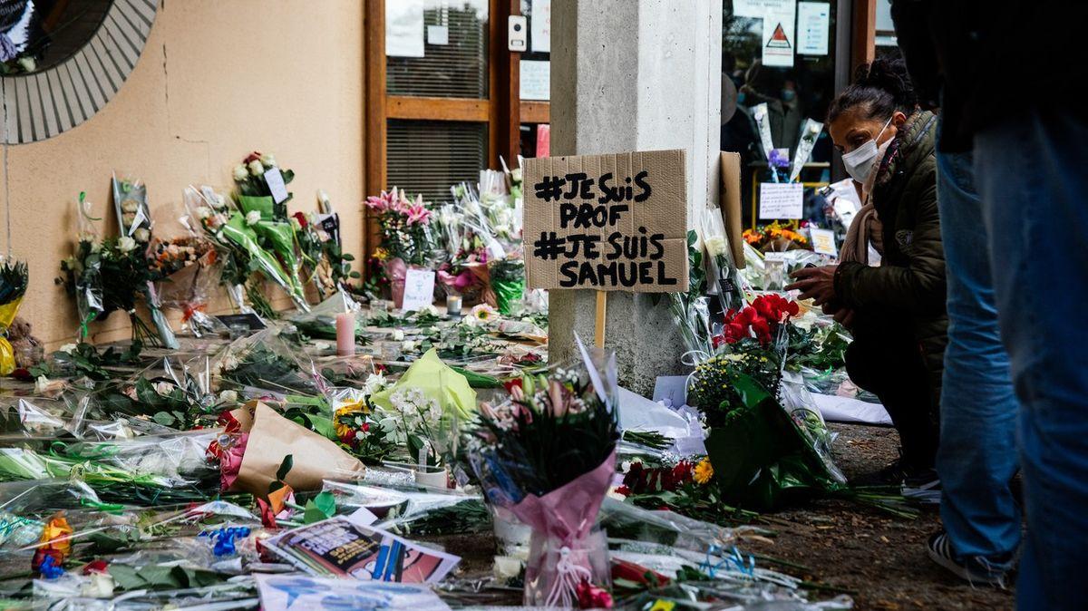 #JeSuisProf. Francouzi odsuzují vraždu učitele jako útok na svobodu slova