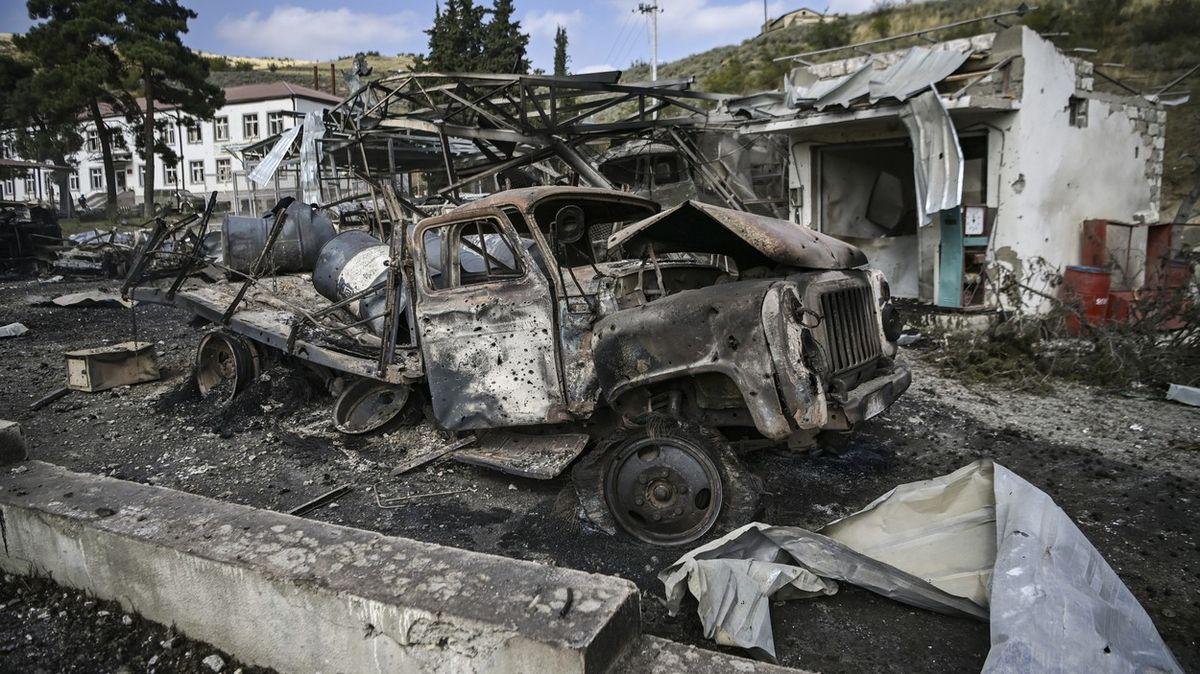 Arménie hlásí 2317padlých vojáků vbojích oNáhorní Karabach