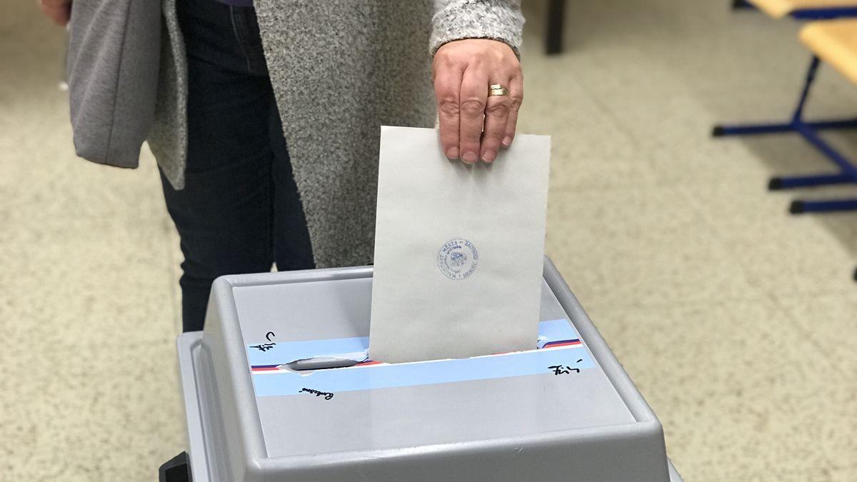 Ve Vražkově na Litoměřicku byl zájem ohlasování ve volbách velký