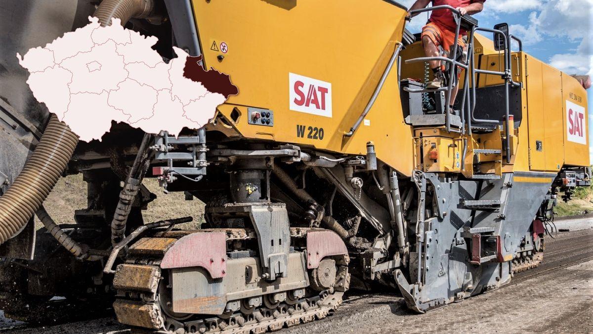 VOstravě opraví několik set metrů dálnice do Polska