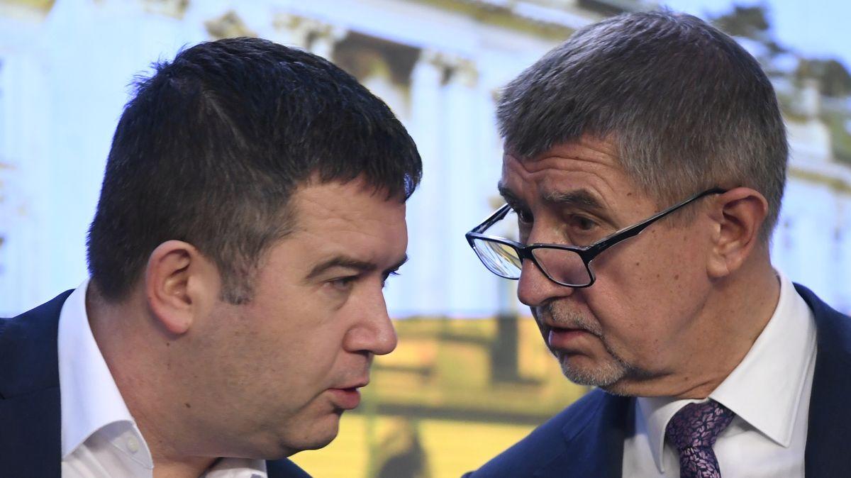 Babiš: Hamáček slíbil, že ČSSD rozpočet podpoří