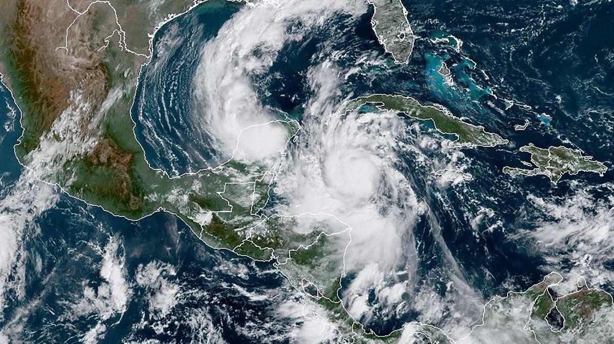 Hurikán Delta se blíží kMexiku, rychlost dosahuje až 210kilometrů vhodině
