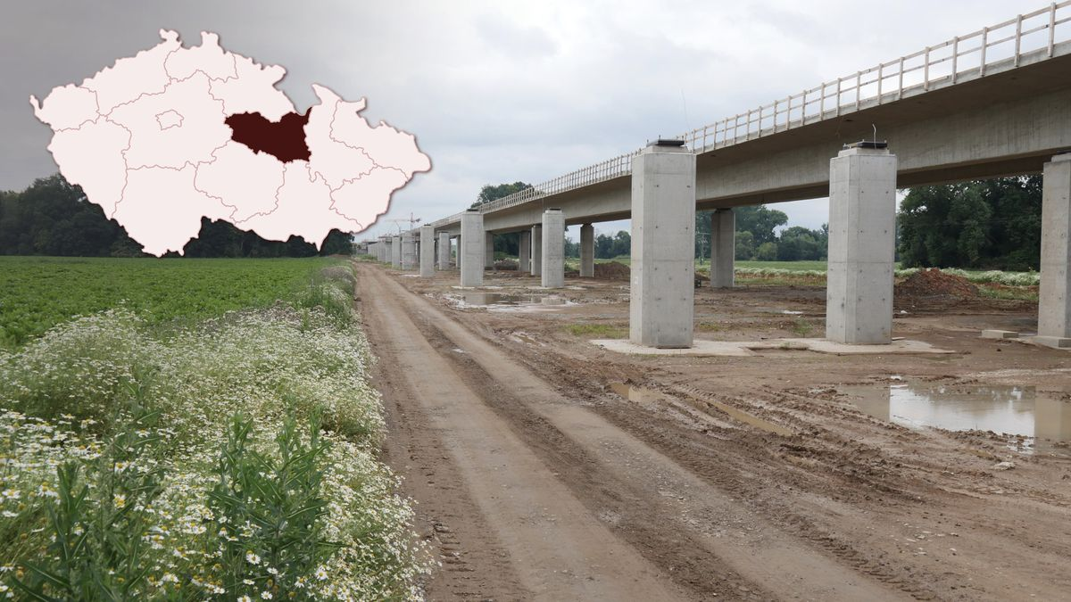 Stavba dálnice D35 způsobila Pardubickému kraji škody za 2,8miliardy